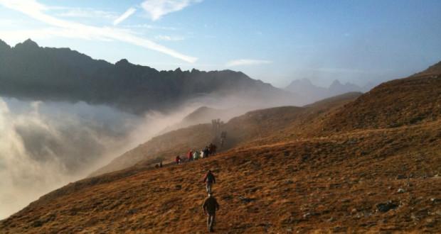 Nebelschwaden Berglandschaft Sechszeiger / Hochzeiger / Pitztal / Tirol