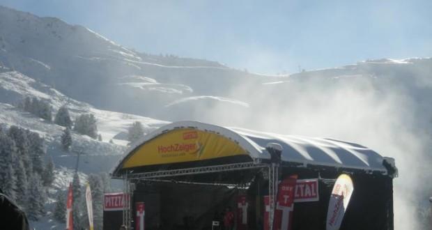 Bühne am Hochzeiger - Pitztal (Winterlandschaft