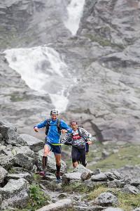 Trail Running Pitztal - Wasserfall