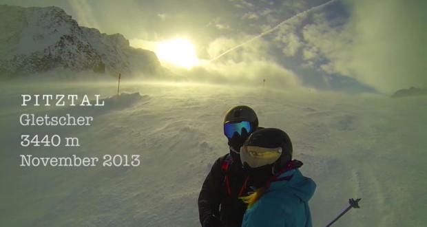 Skifahren am Pitztaler Gletscher