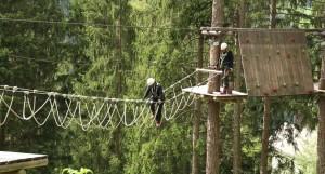 Hochseilgarten Waldseilpark