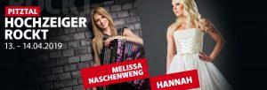Melissa Naschenweng und Hannah am Hochzeiger