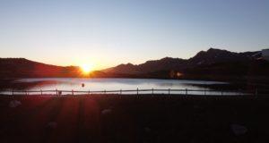 Sonnenaufgang am Sechszeiger
